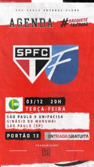 São Paulo x Unifacisa