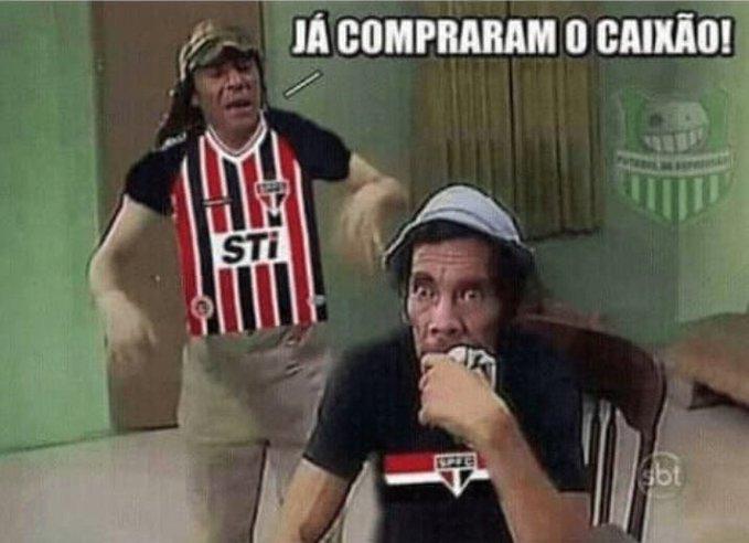 São Paulo vira piada na web após perder para o Grêmio ...