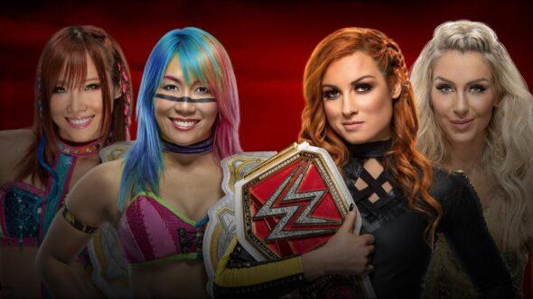 The Kabuki Warriors vs. Becky Lynch & Charlotte Flair