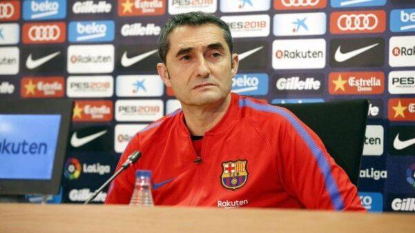 Valverde admite instabilidade no Barcelona após derrota