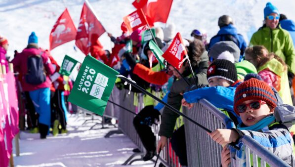 Jogos Olímpicos da Juventude em Lausanne