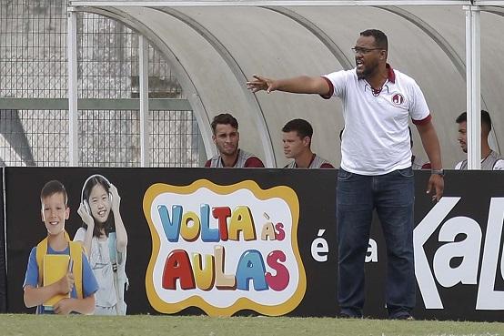 O técnico do Juventus na Copa São Paulo de 2020, Marcel Barbosa (Foto: Alê Vianna/ CA Juventus)
