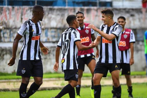 Atlético-MG x São Bernardo na Copa São Paulo
