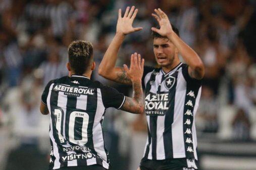Pedro Raul e Bruno Nazario foram os destaques do Botafogo na partida contra o Resende