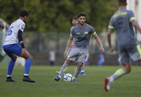 Andrey foi relacionado para o confronto do Vasco contra o Flamengo.