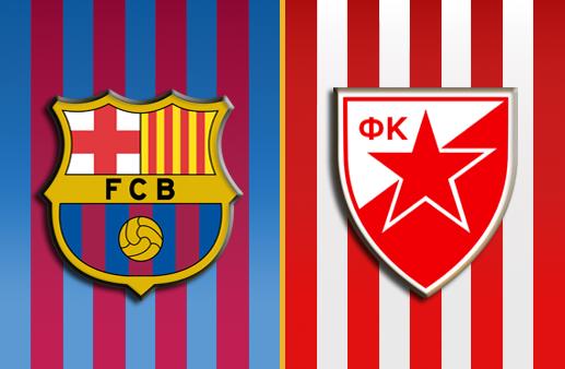 Barcelona x Estrela Vermelha Euroliga