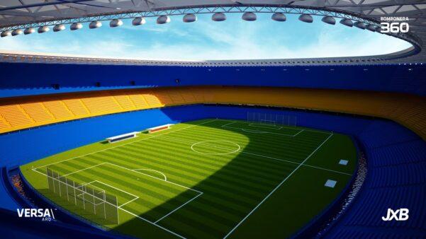 Boca Juniors avança em projeto de modernizar La Bombonera