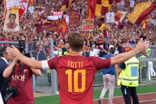 ídolos 15 temporadas roma totti