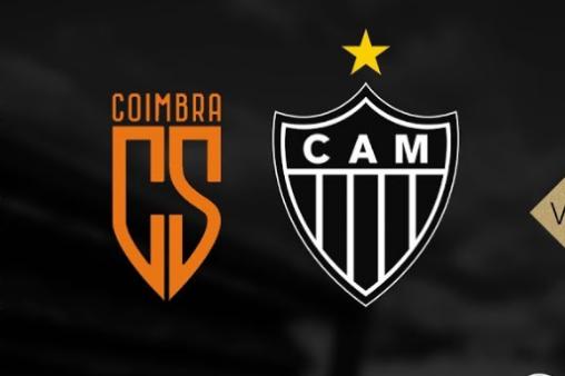 Coimbra x Atlético-MG