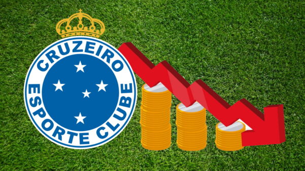 Cruzeiro vai disputar Série B sem verba de elite, como acontecia com grandes nos outros anos - Ilustração: Allan Simon