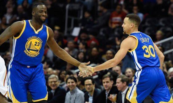 Curry e Thompson podem voltar às quadras pelo Golden State Warriors