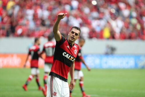 Rhodolfo em ação pelo Flamengo