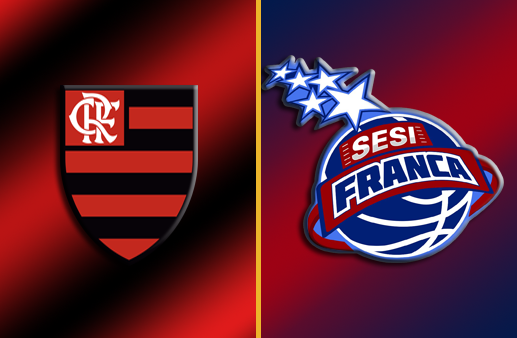 Flamengo x Franca Copa Super 8 de Basquete