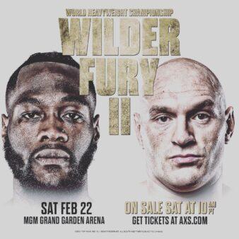 Tyson Fury x Deontay Wilder 2