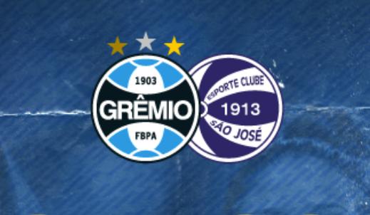 Grêmio x São José