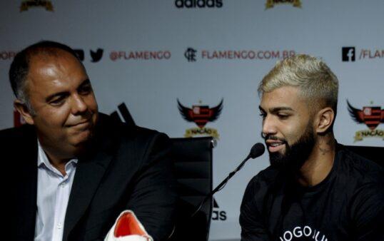 Braz e Gabigol Flamengo.