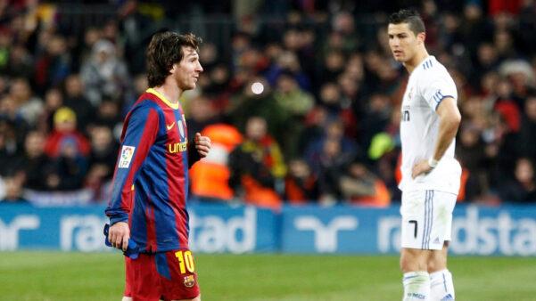 Messi e Cristiano Ronaldo travaram uma tremenda disputa na última década