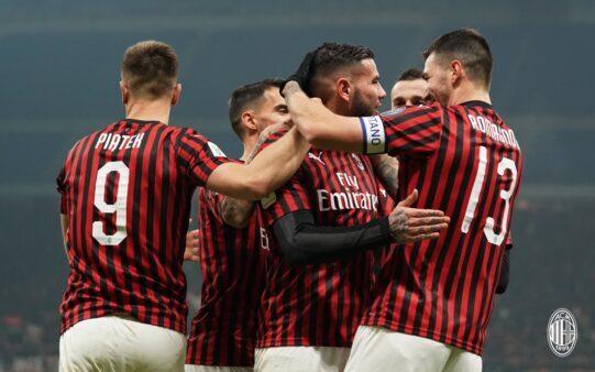 Milan é um dos que seguem vivos na Copa da Itália