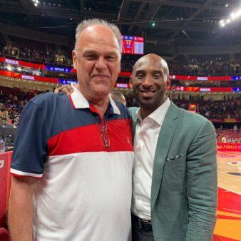 Oscar Schmidt e Kobe Bryant