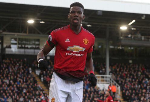 Pogba deseja sair do United em breve.