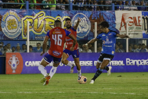 Nícolas fez o gol da vitória do Paysandu