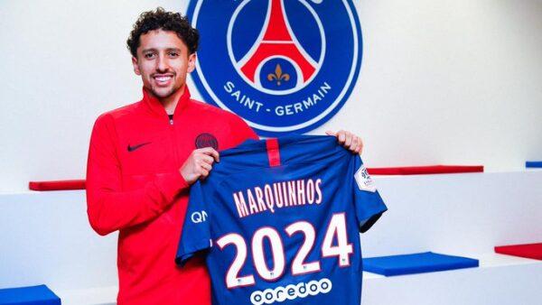 PSG renova com Marquinhos até 2024