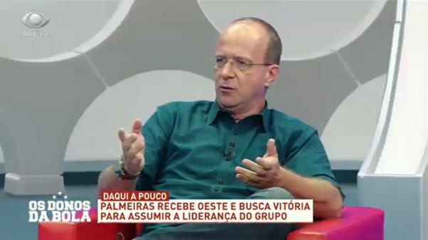 Rogério Assis, narrador da Band