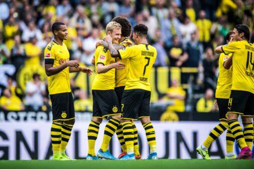 Sem Paco Alcácer provável escalação Borussia Dortmund contra Augsburg Bundesliga