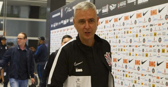 Tiago Nunes, Andrés Sanchez