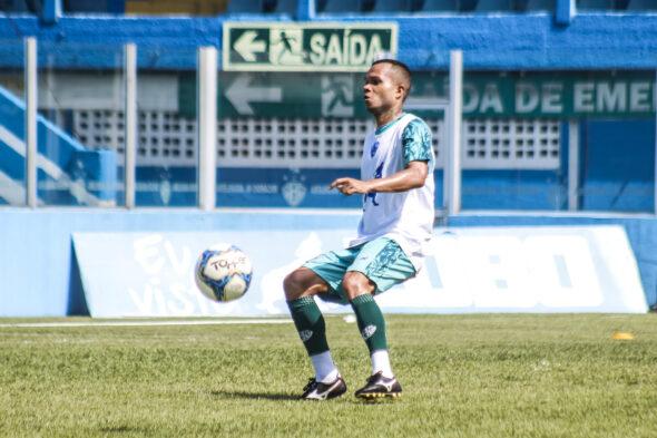 Uchôa pode reaparecer nas convocações do Paysandu para jogos oficiais - imagem: Jorge Luiz/ascom Paysandu