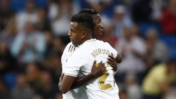 Vinicius Jr e Rodrygo Real Madrid relacionados primeira partida do ano