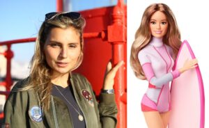 Barbie Maya Gabeira atletas