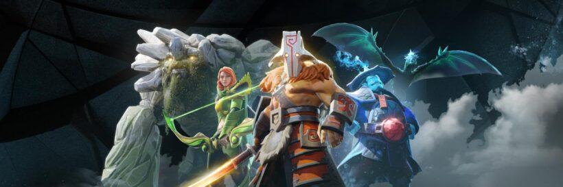 Os jogadores foram banidos por trapacearem no matchmaking do Dota 2