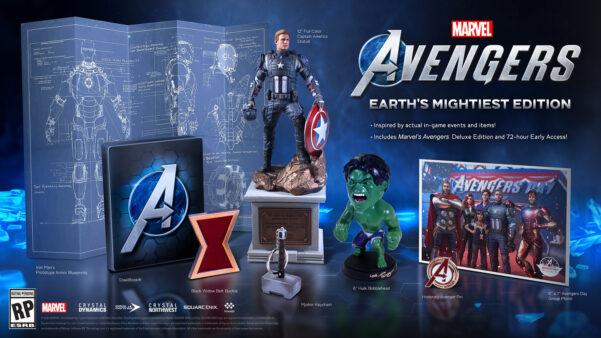AEdição Deluxe garante acesso antecipado doMarvel's Avengers