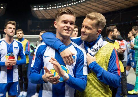 Piatek foi a transferência mais cara do Hertha e a quinta mais cara da Janela de Inverno