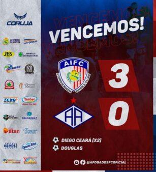 Fez história! Afogados vence o Atlético-AC por 3 a 0, pela Copa do Brasil: assista aos gols da partida