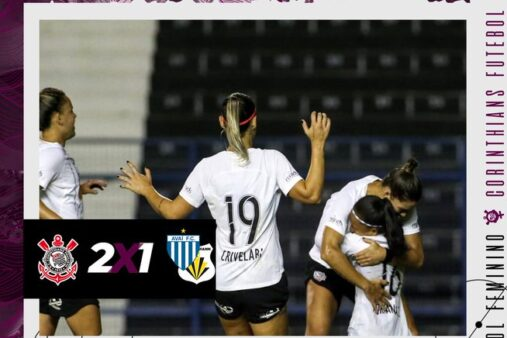 Adriana e Victoria Albuquerque Corinthians vence Avaí Kindermann Brasileirão Feminino