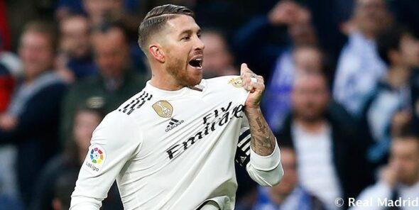 Sérgio Ramos La Liga Real Madrid