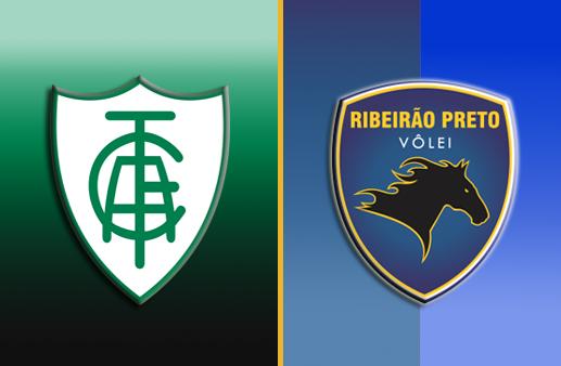 América-MG x Ribeirão Preto Superliga Masculina de Vôlei
