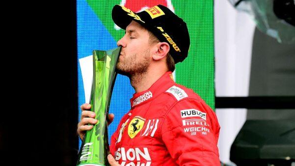 Vettel Ferrari Fórmula 1
