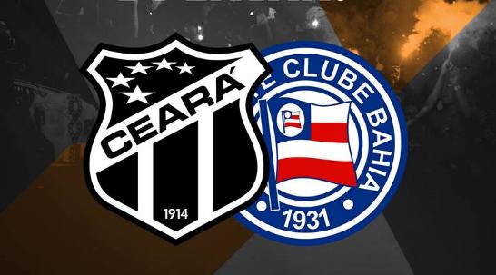 Ceará x Bahia: saiba como assistir AO VIVO ao jogo do Brasileirão