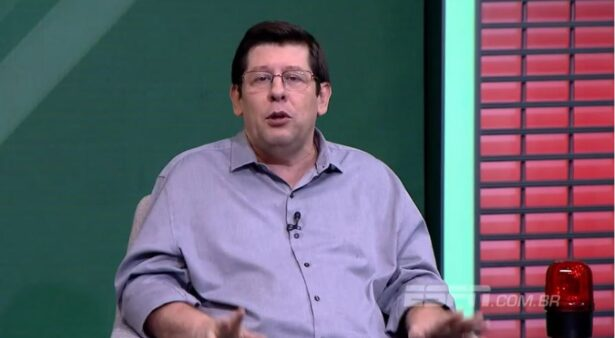 Celso Unzelte criticou o setor ofensivo do Corinthians e citou dispensa de Ralf
