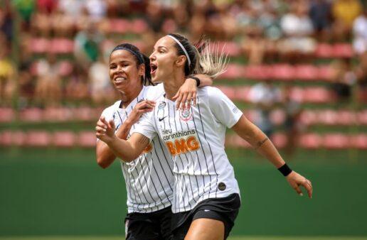 Corinthians vence dérbi contra o Palmeiras Inter estreia resultados domingo Brasileirão Feminino