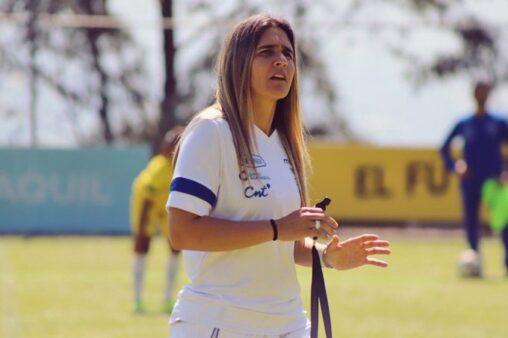 Emily Lima treinadora seleção feminina Equador futebol feminino brasileiro