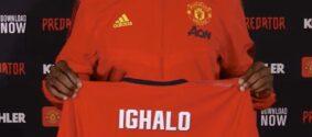 Ighalo revela que baixou o salário para assinar pelo Manchester United