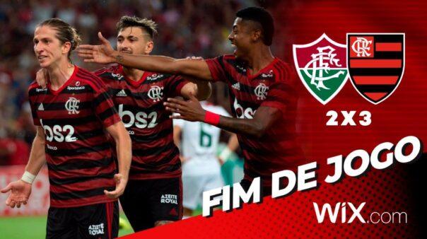 Flamengo passou pelo Fluminense na semi da Taça Guanabara