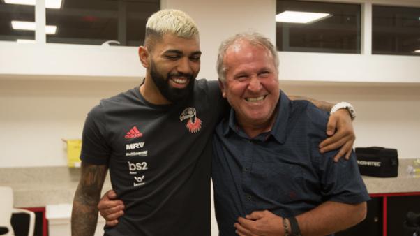 Zico e Gabigol no Flamengo