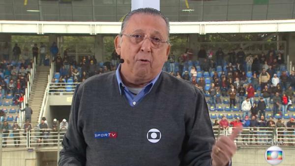 Galvão Bueno será um dos narradores da Globo, nas Olimpíadas