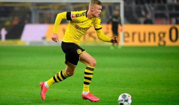 Haaland vive fase dos sonhos no Borussia Dortmund