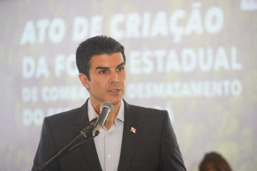 Hélder Barbalho, governador do Pará
